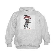 Attack of the Zombie Chinchilla Hoodie