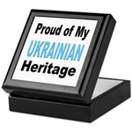 Proud Ukrainian Heritage Keepsake Box