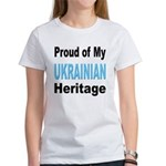 Proud Ukrainian Heritage Women's T-Shirt