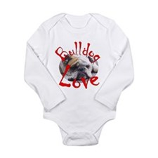 Bulldog Love Long Sleeve Infant Bodysuit