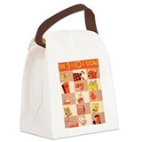 5 and dime Canvas Lunch Bag