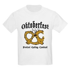 Pretzel Eating Contest Kids T-Shirt