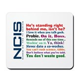 NCIS Quotes Mousepad