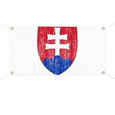 Slovakia Roundel Banner