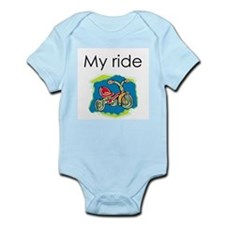 My ride (1) Infant Creeper