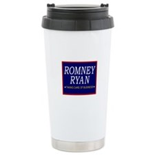 Romney Ryan Taking Care of Business Ceramic Travel
