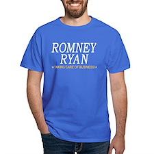 Romney Ryan Taking Care of Business T-Shirt