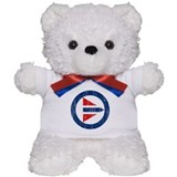 Norway Roundel Teddy Bear