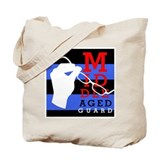Middle Aged Guard Tote Bag