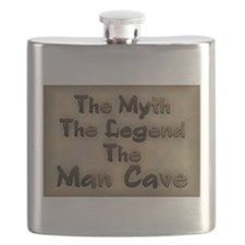 The Myth, The Legend Flask