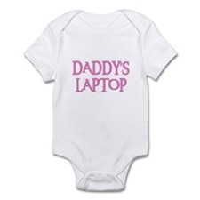 DADDY'S LAPTOP Infant Creeper