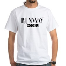 Runway Model White T-shirt