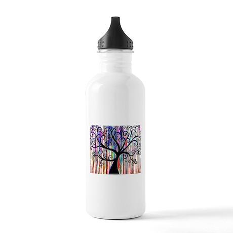 Dark Swirl Stainless Water Bottle 1.0L