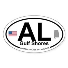 Gulf Shores Decal