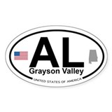 Grayson Valley Decal