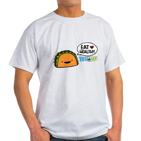 Eat healthy by yogome Light T-Shirt