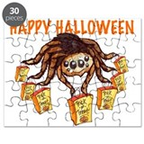 Friendly Trick or Treat Spider Puzzle