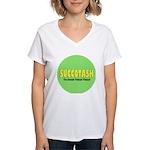Succotash Women's V-Neck T-Shirt