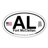 Fort McClellan Decal