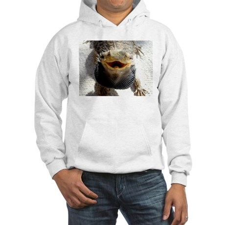 Bearded Dragon Hooded Sweatshirt