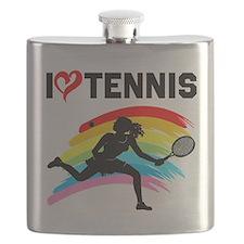 I LOVE TENNIS Flask