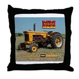 Minneapolis Moline Tractor Throw Pillow
