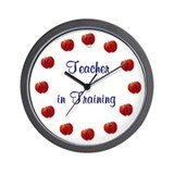 Teacher in Training Wall Clock