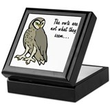 The Owls Keepsake Box
