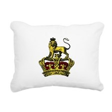 Really Royal Rectangular Canvas Pillow