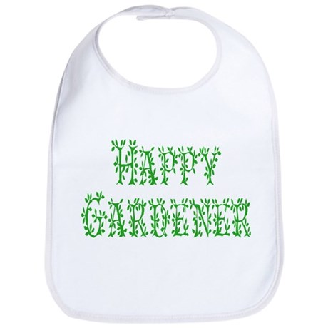 Happy Gardener Bib