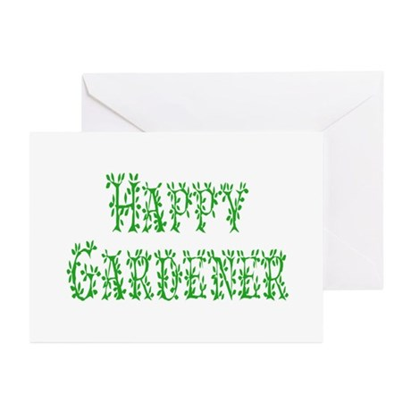 Happy Gardener Greeting Cards (Pk of 10)