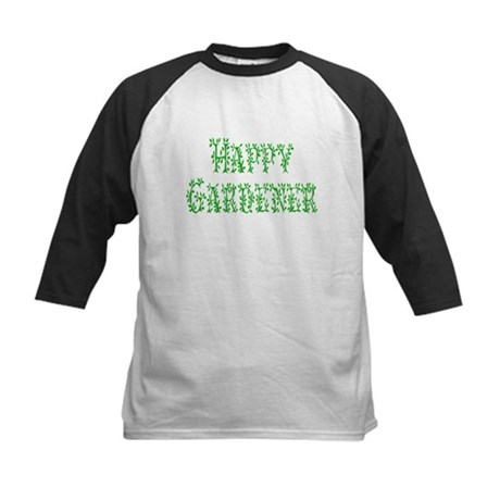 Happy Gardener Kids Baseball Jersey