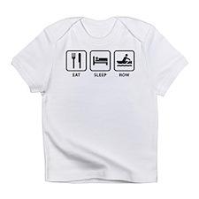 Eat Sleep Row Infant T-Shirt