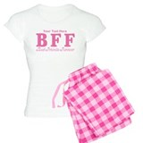 CUSTOM TEXT Best Friends Forever pajamas