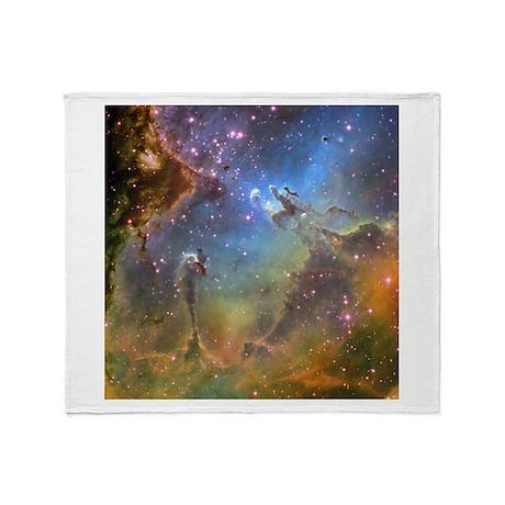 Eagle nebula high res throw blanket for Nebula fabric uk