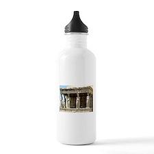 caryotide porch - horizontal.jpg Water Bottle