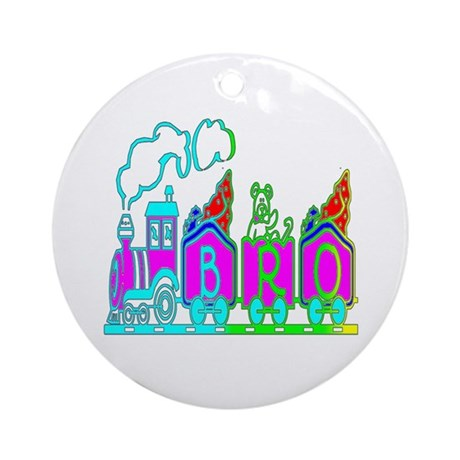 BRO Train II Ornament (Round)
