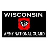Wisconsin Army National Guard Decal