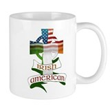 Irish American Celtic Cross Coffee Mug