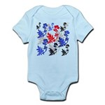 OYOOS Floral design Infant Bodysuit