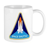 Space Shuttle Shield  Tasse