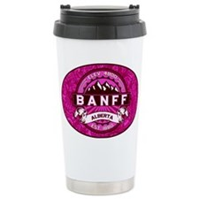 Banff Alberta Ceramic Travel Mug