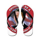 Proud Reagan Republican Flip Flops