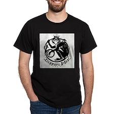 Laughing Monkey Burning Man Logo 2012 T-Shirt