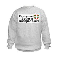 Basque Girl Sweatshirt
