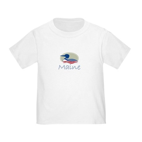 Proud Loon-Maine: Toddler T-Shirt