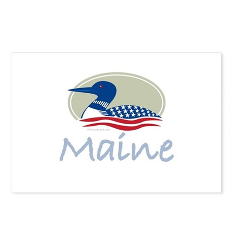 Proud Loon-Maine: Postcards (Package of 8)