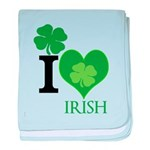 OYOOS Irish Heart design baby blanket
