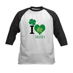 OYOOS Irish Heart design Kids Baseball Jersey