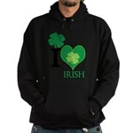 OYOOS Irish Heart design Hoodie (dark)